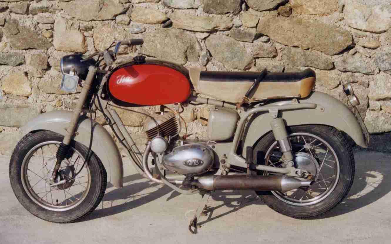 moto iso 125 del 1954